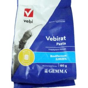 Vebirat Pasta Δόλωμα για Ποντίκια  150GR
