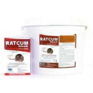 RatcumWAT (BLOCK BAIT 10GR) 5Kg