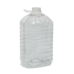 πλαστικό μπουκάλι 5 λίτρων